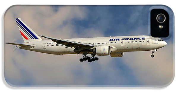 French iPhone 5 Case - Air France Boeing 777-228 by Smart Aviation