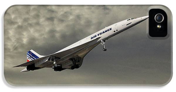 French iPhone 5 Case - Air France Concorde 116 by Smart Aviation