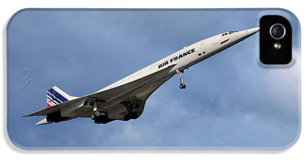 French iPhone 5 Case - Air France Concorde 117 by Smart Aviation