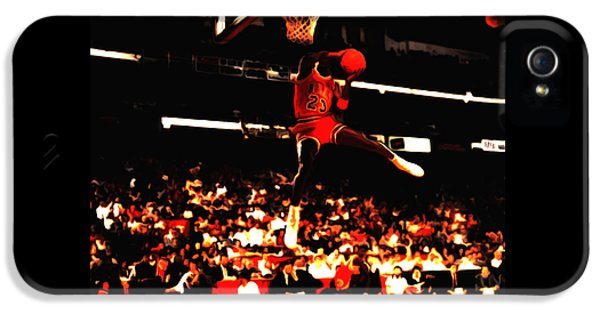 Air Jordan 1988 Slam Dunk Contest 8c IPhone 5 Case