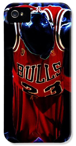 Air Jordan Never Quit IPhone 5 Case by Brian Reaves