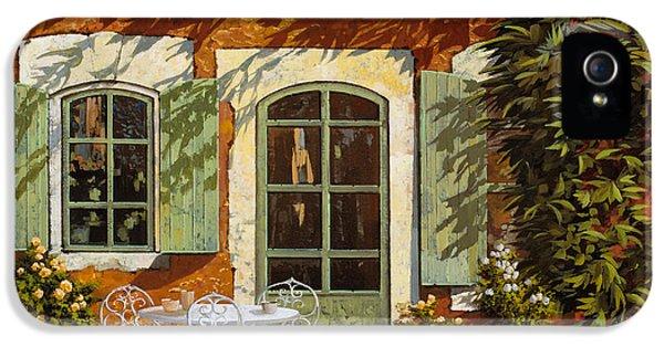 Al Fresco In Cortile IPhone 5 Case by Guido Borelli