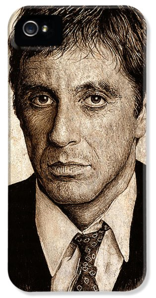 Al Pacino IPhone 5 Case by Andrew Read