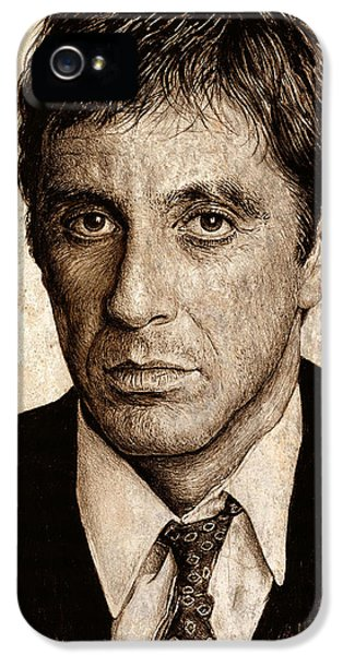 Al Pacino IPhone 5 / 5s Case by Andrew Read