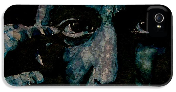 Al Pacino IPhone 5 Case by Paul Lovering