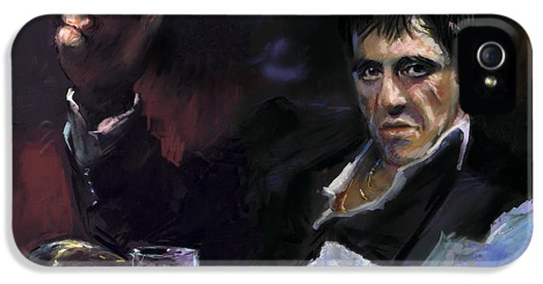 Al Pacino Snow IPhone 5 Case