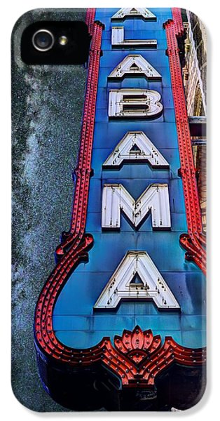 Alabama IPhone 5 Case by JC Findley