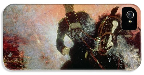 Albert I King Of The Belgians In The First World War IPhone 5 / 5s Case by Ilya Efimovich Repin