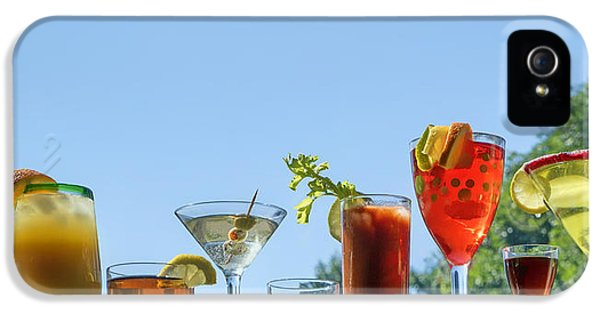 Alcoholic Beverages - Outdoor Bar IPhone 5 Case