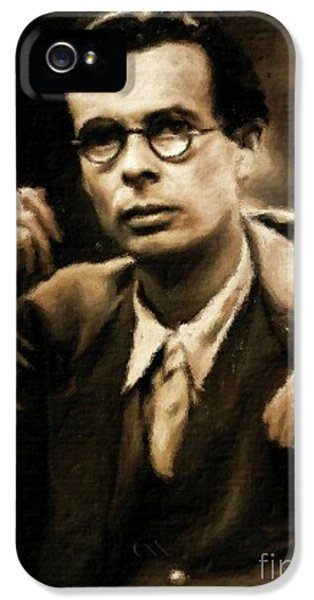 Aldous Huxley, Literary Legend By Mary Bassett IPhone 5 Case