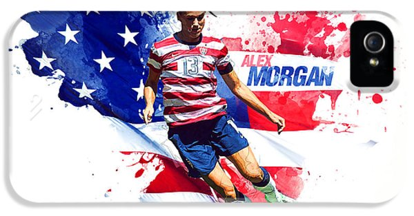 Alex Morgan IPhone 5 Case by Semih Yurdabak