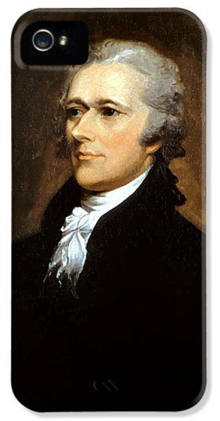 Alexander Hamilton IPhone 5 Case by War Is Hell Store