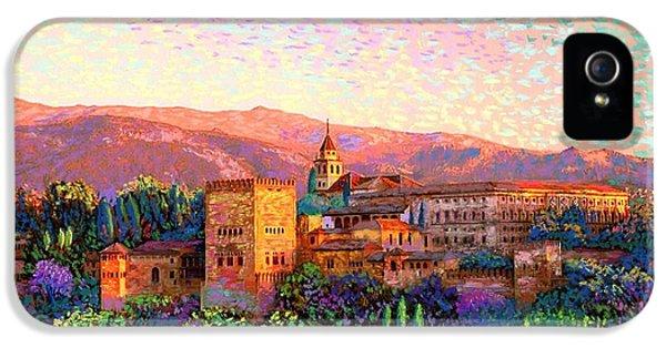 Alhambra, Grenada, Spain IPhone 5 Case