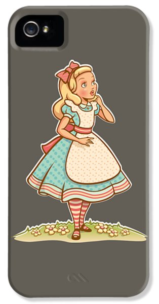 Alice IPhone 5 / 5s Case by Elizabeth Taylor