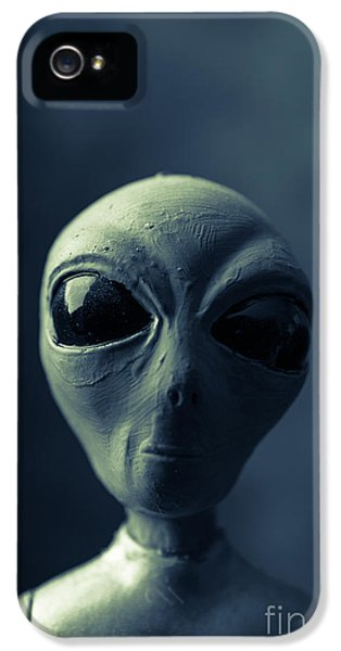 Alien Encounter IPhone 5 Case by Edward Fielding