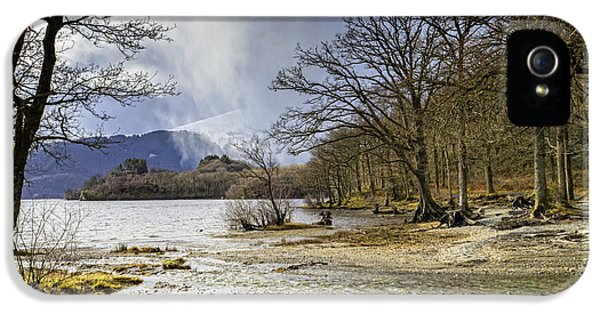 IPhone 5 Case featuring the photograph All Seasons At Loch Lomond by Jeremy Lavender Photography