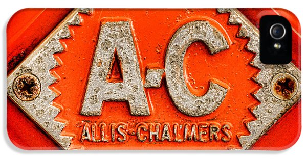 Allis Chalmers Badge IPhone 5 Case by Olivier Le Queinec
