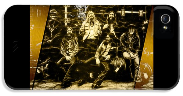 Allman Brothers Collection IPhone 5 Case by Marvin Blaine
