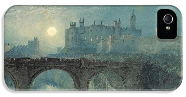 Castle iPhone 5 Case - Alnwick Castle by Joseph Mallord William Turner