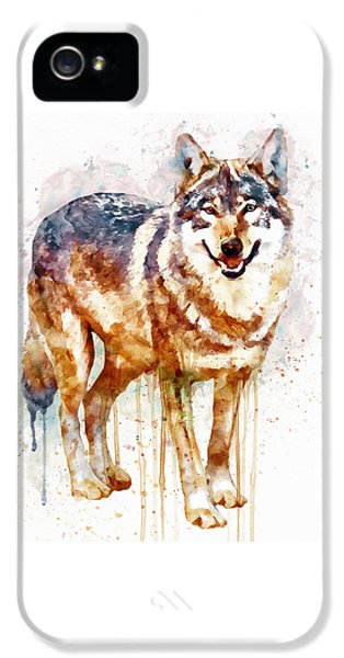 Alpha Wolf IPhone 5 / 5s Case by Marian Voicu