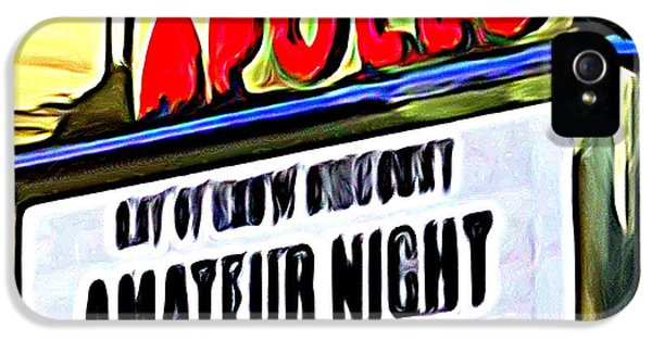 Amateur Night IPhone 5 Case by Ed Weidman