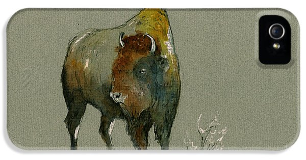 American Buffalo IPhone 5 Case by Juan  Bosco