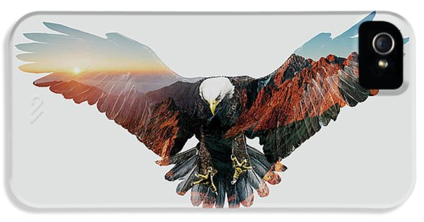 American Eagle IPhone 5 / 5s Case by John Beckley