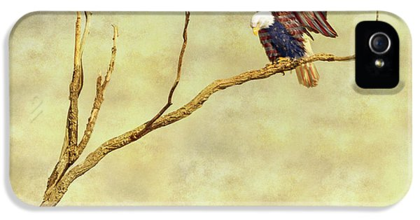 IPhone 5 Case featuring the photograph American Freedom by James BO Insogna