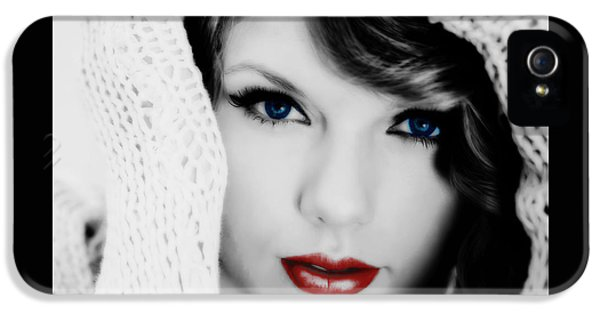 American Girl Taylor Swift IPhone 5 / 5s Case by Brian Reaves