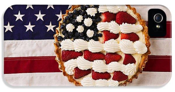 American Pie On American Flag  IPhone 5 Case