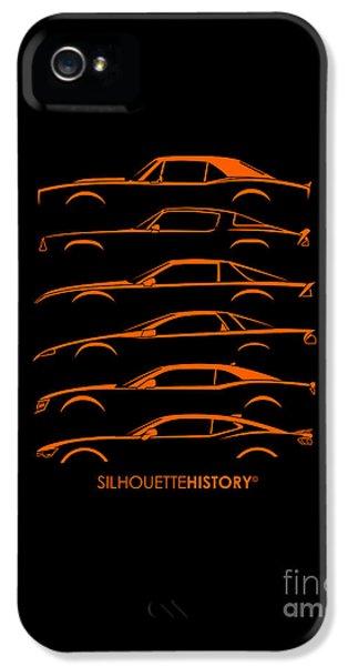 American Pony Silhouettehistory IPhone 5 Case