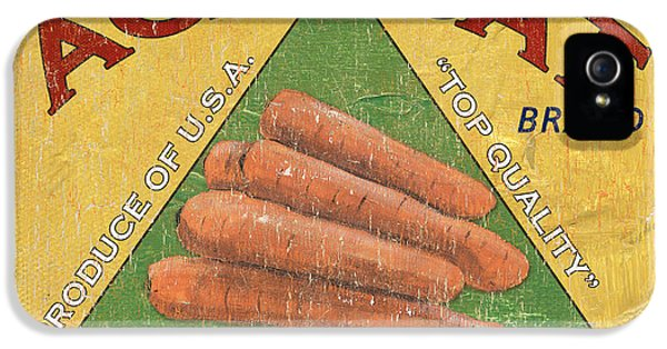 Americana Vegetables 2 IPhone 5 Case by Debbie DeWitt
