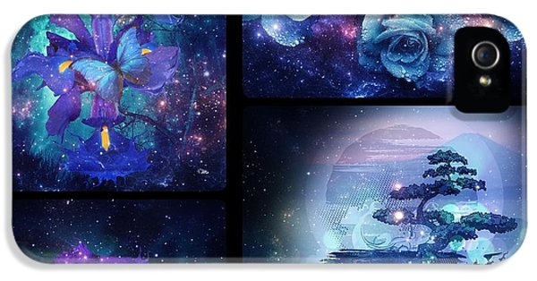 Among The Stars Series IPhone 5 Case by Mo T