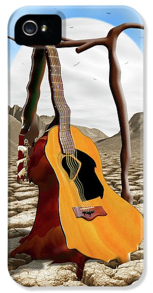 An Acoustic Nightmare IPhone 5 Case by Mike McGlothlen
