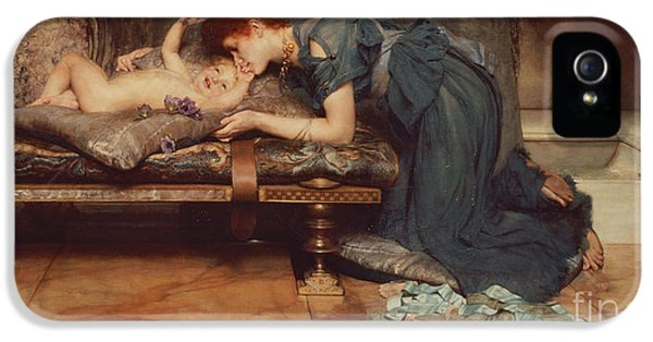 An Earthly Paradise IPhone 5 Case by Sir Lawrence Alma-Tadema