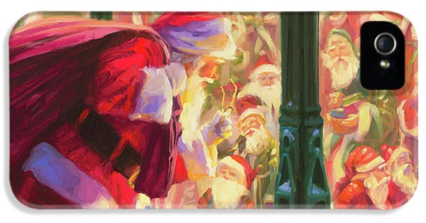 Elf iPhone 5 Case - An Unforeseen Encounter by Steve Henderson