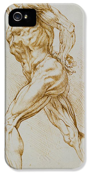 Anatomical Study IPhone 5 Case by Rubens