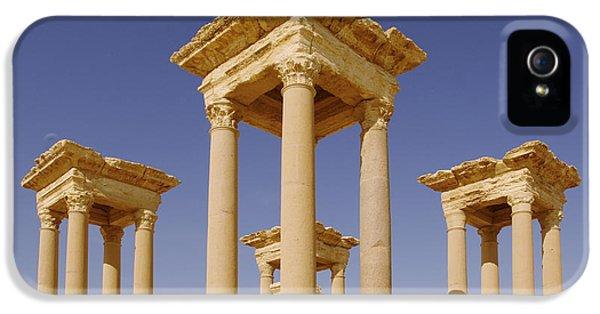 Ancient Palmyra IPhone 5 Case by Roman School