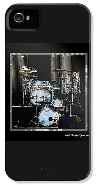 Drum iPhone 5 Case - And The Beat Goes On.... by Holly Kempe