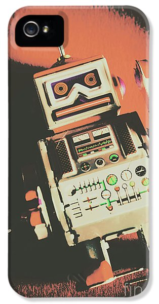 Android Short Circuit  IPhone 5 Case by Jorgo Photography - Wall Art Gallery