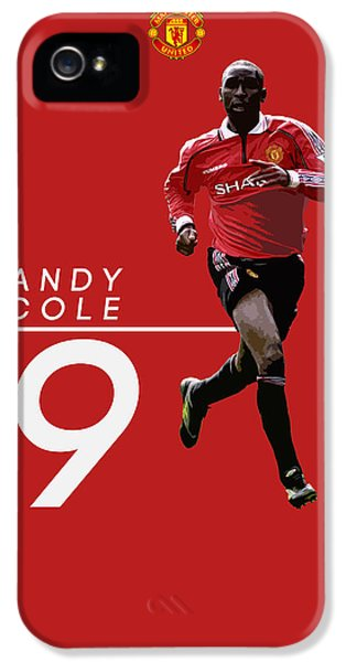 Andy Cole IPhone 5 Case