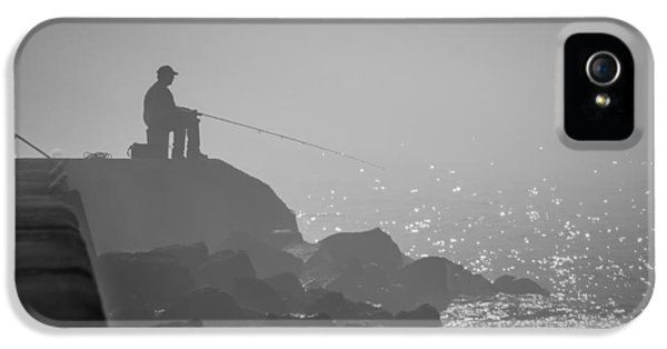 Angling In A Fog  IPhone 5 Case