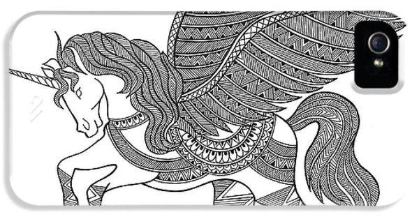Animal Unicorn IPhone 5 Case by Neeti Goswami
