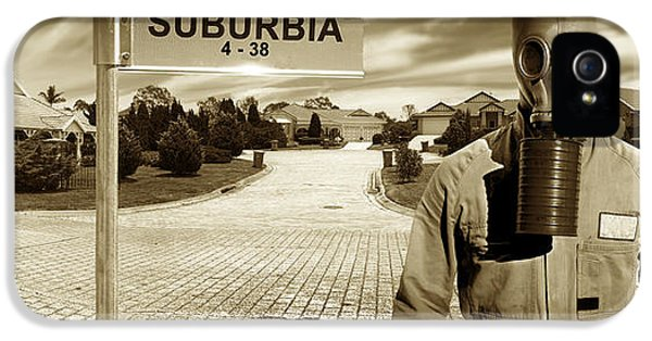 Breathe iPhone 5 Case - Another Day In Suburbia by Jorgo Photography - Wall Art Gallery