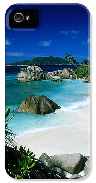 Anse Patatran La Digue Seychelles IPhone 5 Case