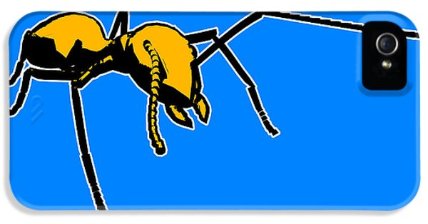 Ant Graphic  IPhone 5 Case by Pixel  Chimp