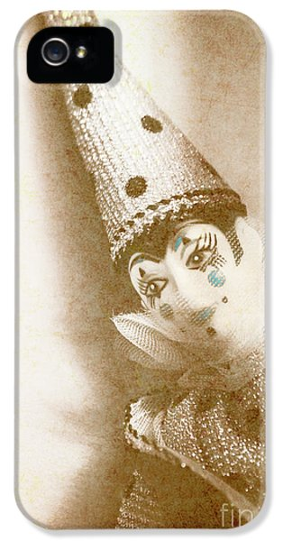 Antique Carnival Doll IPhone 5 Case by Jorgo Photography - Wall Art Gallery