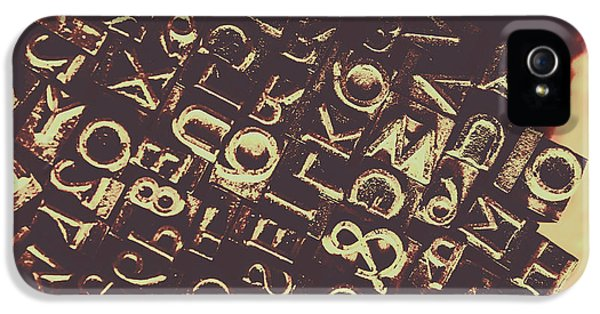 Antique Enigma Code IPhone 5 Case by Jorgo Photography - Wall Art Gallery