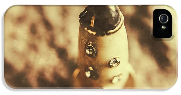 Antique Rocket Ship On Faded Asteroid IPhone 5 Case by Jorgo Photography - Wall Art Gallery