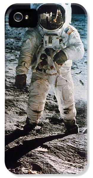 Astronauts iPhone 5 Case - Apollo 11 Buzz Aldrin by Granger